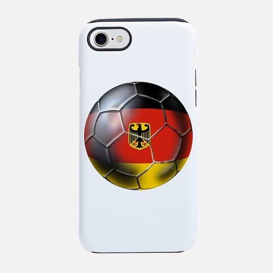 German Soccer Ball iPhone 7 Tough Case