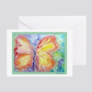 BUTTERFLY, beautiful, Greeting Card