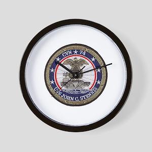 USS John Stennis CVN 74 Wall Clock