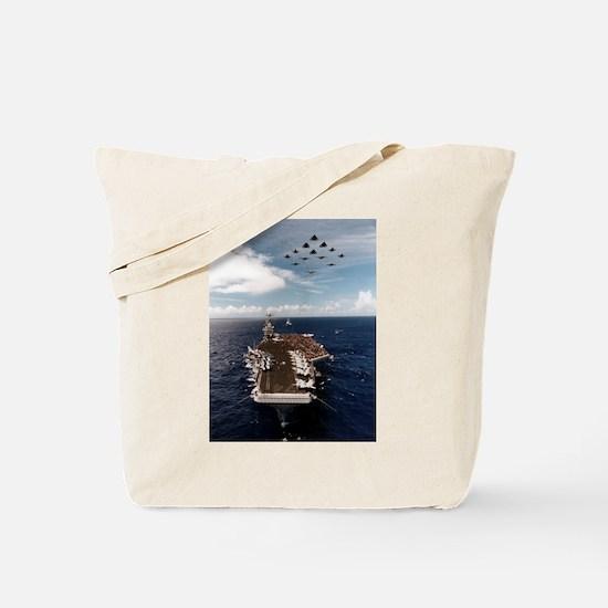 USS John Stennis Ship's Image Tote Bag