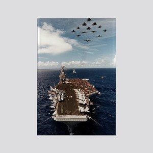 USS John Stennis Ship's Image Rectangle Magnet