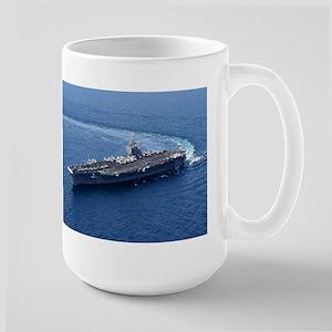 USS John Stennis Ship's Image Large Mug