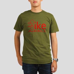 BIKE ADDICT, Organic Men's T-Shirt (dark)