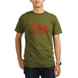 Funny mountain bike Organic Men's T-Shirt (dark)