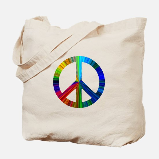 PAW PRINT/PEACE SIGN Tote Bag