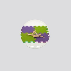 Gymnastics stretching Mini Button