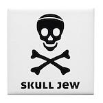 Skull Jew Tile Coaster