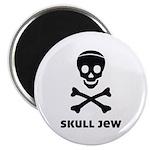 """Skull Jew 2.25"""" Magnet (100 pack)"""