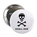 "Skull Jew 2.25"" Button (100 pack)"