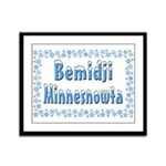 Bemidji Minnesnowta Framed Panel Print