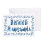 Bemidji Minnesnowta Greeting Card
