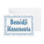 Bemidji Minnesnowta Greeting Cards (Pk of 20)