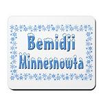 Bemidji Minnesnowta Mousepad