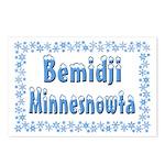 Bemidji Minnesnowta Postcards (Package of 8)