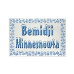 Bemidji Minnesnowta Rectangle Magnet (10 pack)