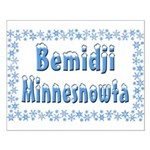 Bemidji Minnesnowta Small Poster