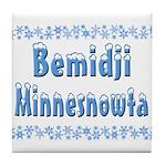 Bemidji Minnesnowta Tile Coaster