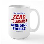 Zero Tolerance Large Mug
