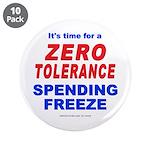 """Zero Tolerance 3.5"""" Button (10 pack)"""