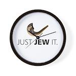 Just Jew It Wall Clock