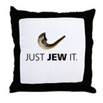 Just Jew It Throw Pillow