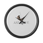 Just Jew It Large Wall Clock