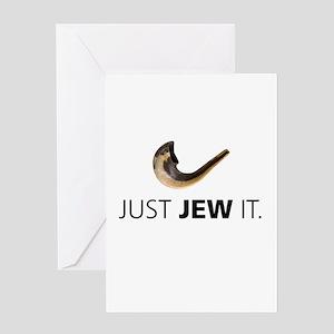 Just Jew It Greeting Card