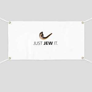 Just Jew It Banner