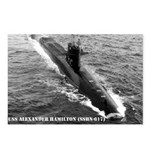 USS ALEXANDER HAMILTON Postcards (Package of 8)