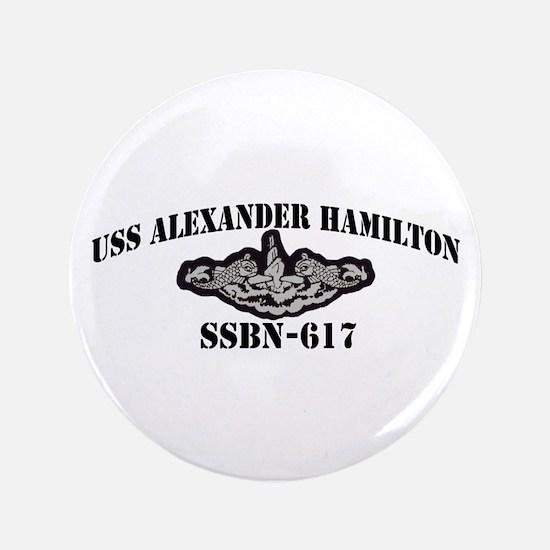 """USS ALEXANDER HAMILTON 3.5"""" Button"""