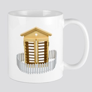 Home with picket fence Mug