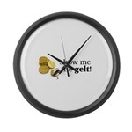 Show me the money..Gelt! Large Wall Clock