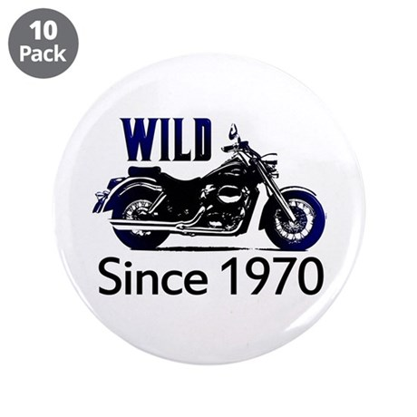 """40th Birthday 3.5"""" Button (10 pack)"""