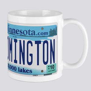 Bloomington License Plate Mug