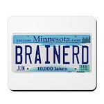 Brainerd License Plate Mousepad