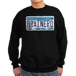Brainerd License Plate Sweatshirt (dark)