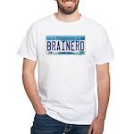 Brainerd License Plate White T-Shirt