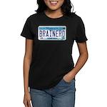 Brainerd License Plate Women's Dark T-Shirt