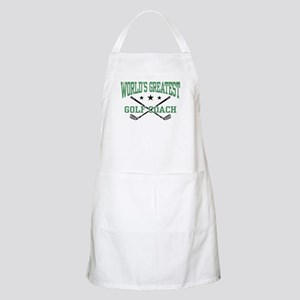World's Greatest Golf Coach Apron