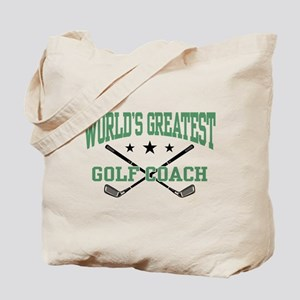 World's Greatest Golf Coach Tote Bag