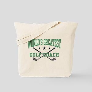 World's Greatest Golf Coach Tote Bag