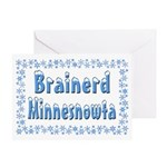Brainerd Minnesnowta Greeting Card
