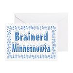 Brainerd Minnesnowta Greeting Cards (Pk of 20)