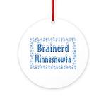 Brainerd Minnesnowta Ornament (Round)