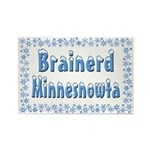Brainerd Minnesnowta Rectangle Magnet (10 pack)