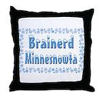 Brainerd Minnesnowta Throw Pillow