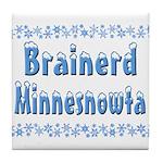 Brainerd Minnesnowta Tile Coaster