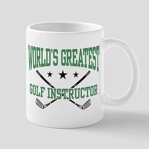 World's Greatest Golf Instructor Mug