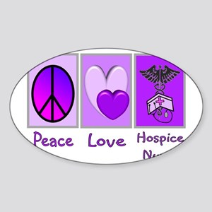 Nurse Gifts XX Oval Sticker