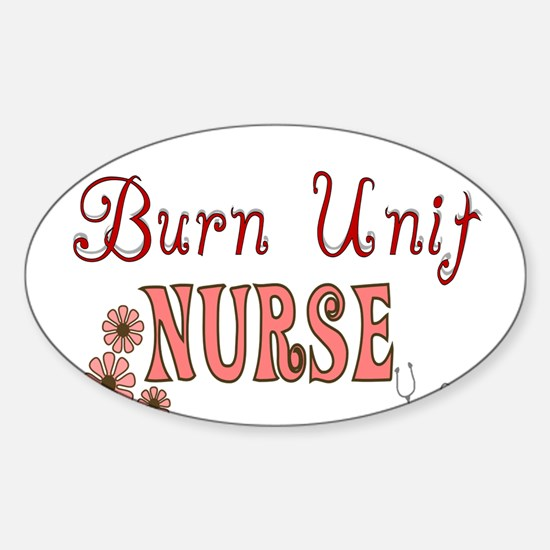 Nurse Gifts XX Oval Decal